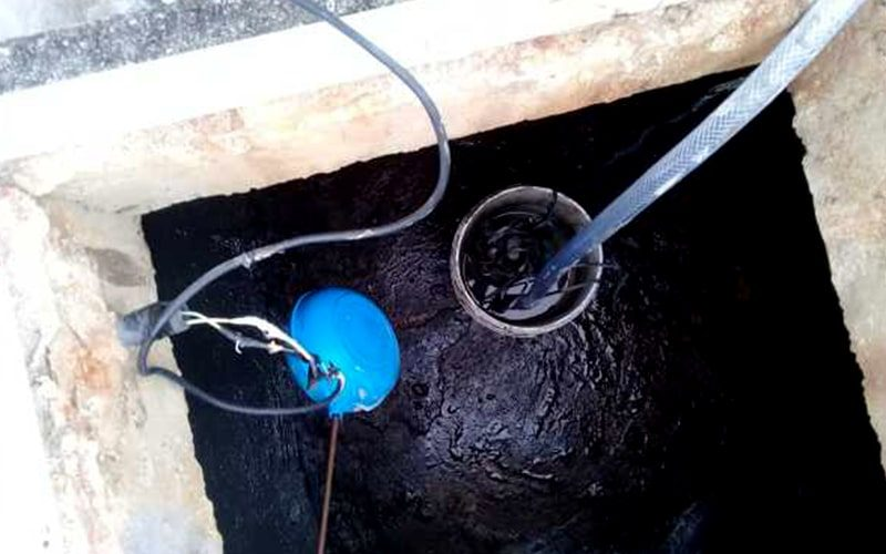 limpeza de cisterna